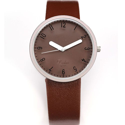 AMPM24 Fashion Women Lady Coffee Dial Leather Sport Quartz Wrist Watch Gift