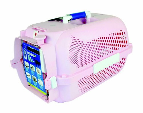Catit Profile Voyageur Model 100, Pink - Small front-9242
