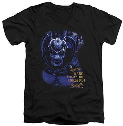 Arkham Asylum Bane Slim Fit V-Neck T-Shirt