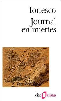 Journal en miettes par Ionesco