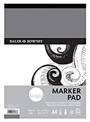 Daler-Rowney Simply A4 Marker Pad