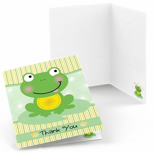 Froggy Frog Thank You Cards (8 count)