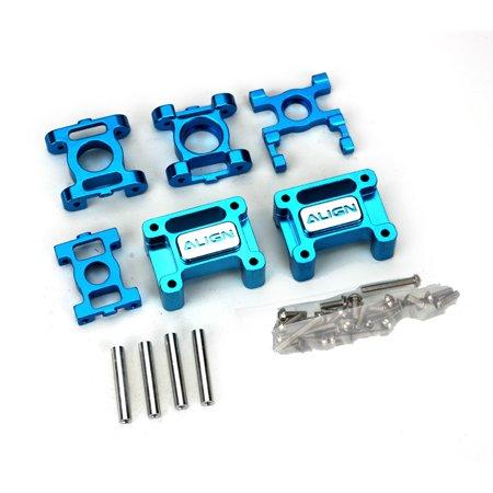 Aluminum Re-Fitting Components, Blue: 450SE