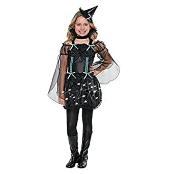 Child Costume - Light-up Midnight Spell (LARGE)