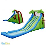 Inflatable drinking water Slides:Tropical influx Waterslide