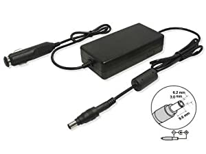 12V-13.5V (Input), 15V-17V (Output),120W,Replacement DC Auto Power Laptop Adapter for TOSHIBA L5/080TNLN, Qosmio E10, TOSHIBA Libretto Series, TOSHIBA Portege 1400, 1800, 1805, 2000, 2410, 2500, 2600, 2800, 2900, 3500, 4000, 4600, 5000, 5105, 7000, M, M300, M400, R200, R400, R500, S Series, TOSHIBA Qosmio G Series, TOSHIBA Satellite 1400, 1410, 1415, 1800, 1805, 2100, 2200, 2400, 2405, 2410, 2415, 2455, 2500, 2600, 2700, 2800, 2805, 2900, 300, 4000, 5000, 5005, 5100, 5105, 5205, 6000, A10, A15, A20, A40, A50, A55, M10, M15, M20, M30, M35, M40, P100, Pro 400, Pro 4200, Pro 430, Pro 4600, Pro 6000, Pro A120, Pro A120SE, Pro M, Pro U200, R10, R15, U200 Series, TOSHBAI Tecra 700, 8000, 8100, 8200, 9000, 9100, A1, A2, A3, A3X, A4, A5, A8, M1, M2, M2V, M3 M4, S1, S2, TE2100, TE2300 Series, (Fits selected models only), Compatible Part Numbers: D1612013