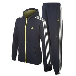 adidas ts hooded jogger light herren jogginganzug sportanzug. Black Bedroom Furniture Sets. Home Design Ideas