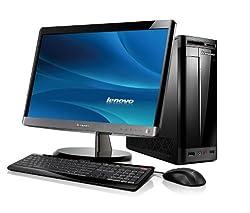 Lenovo H330シリーズ Core i3 2100 タワー型デスクトップPC 21.5型ワイドLEDディスプレイバンドル ブラック 1185-1GJ