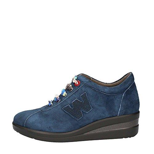 Melluso R0806 Sneakers Donna Camoscio Denim Denim 33