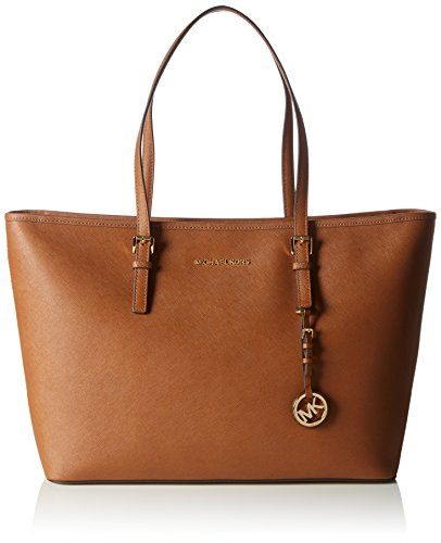 Michael Kors 30T5GTVT2L230 Jet Set Travel Borsa Tote, Colore Marrone(LUGGAGE), Taglia unica