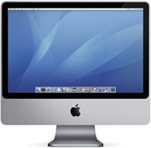 "Apple iMac Desktop with 20"" Display MA876LL/A (2.0 GHz Intel Core 2 Duo, 1 GB RAM, 250 GB Hard Drive, SuperDrive)"