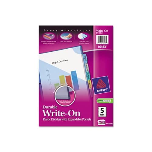 Translucent Multicolor Write-On Dividers with Pocket, 8-Tab, Letter, 1 Set sale off 2015