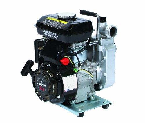 Lifan Pump Pro Lf1.5Hwp 1-1/2-Inch High Pressure Commercial Water Pump With 6.5 Hp 196Cc 4-Stroke Ohv Gasoline Engine