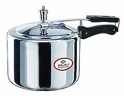 Bajaj Pressure Cooker, 3 litres, Silver
