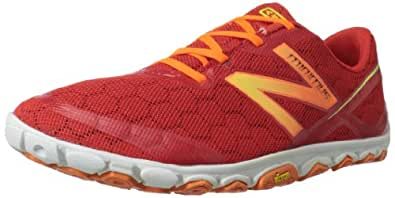 New Balance Men's MR10v2 Minimus Running Shoe,Red/Yellow,8 D US