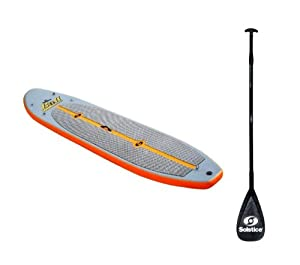 Solstice 35128 Inflatable Stand-Up Light Weight Paddleboard SUP Board w/Paddle