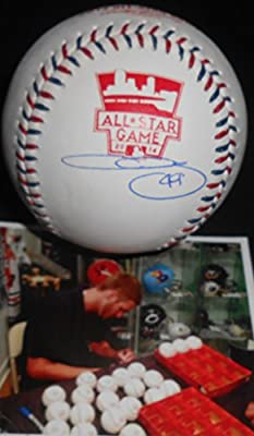 Chris Sale Chicago White Sox Autographed Signed 2014 All Star Baseball
