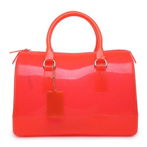 Mylux Connection Women/Girl Doctor Style Candy Bag (orange) (Jelly Handbags Furla compare prices)