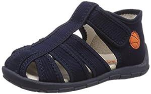 Froddo Froddo Baby Boy Dark Blue Slipper G1700077-2 - pantuflas de aprendizaje de lona bebé marca Froddo