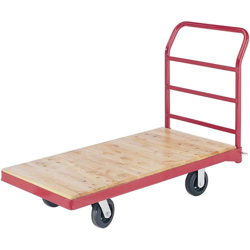 Grizzly H3026 Wheeled Platform Truck with Wood Slats