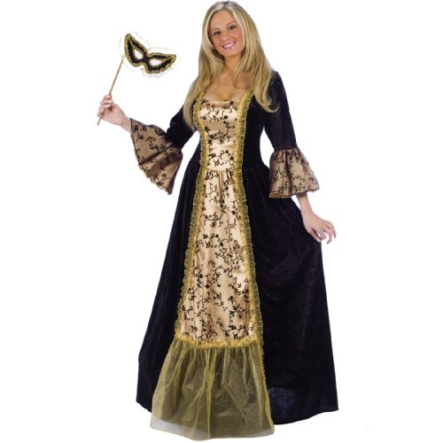 Plus Size Masquerade Ball Queen Costume