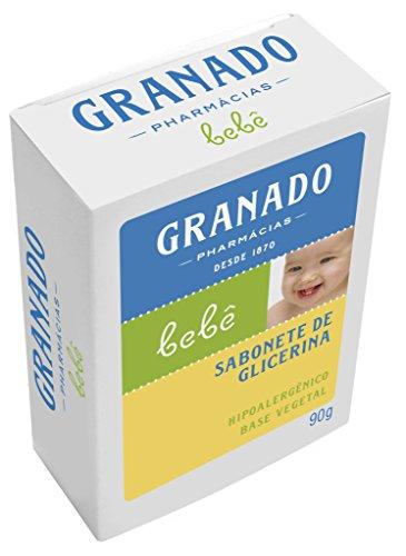 Linha Bebe Granado - Sabonete em Barra de Glicerina Tradicional 90 Gr - (Granado Baby Collection - Classic Glycerin Bar Soap Net 3.2 Oz) - 1