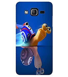 Evaluze turbo Printed Back Cover for SAMSUNG GALAXY ON7 2015