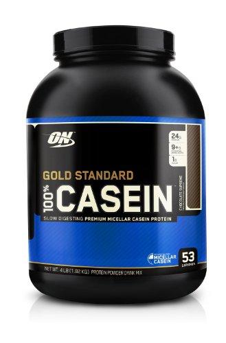 Optimum Nutrition 100% Casein Protein, Chocolate Supreme 4 Pound
