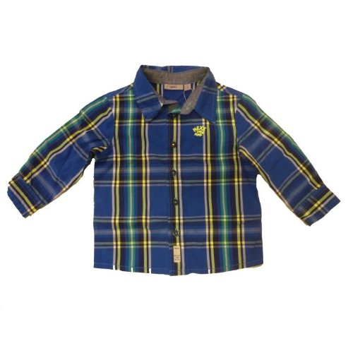 Mexx - Camicia - Bebè maschietto Blu 92