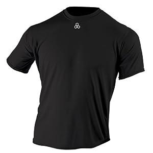 McDavid 905T Mens Half Sleeve Referee Cutcrew T Shirt Scarlet XXXL by McDavid