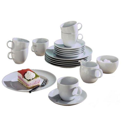 thomas 10850 590003 18334 servizio per la tavola sunny day 14 pezzi colore bianco servizi. Black Bedroom Furniture Sets. Home Design Ideas