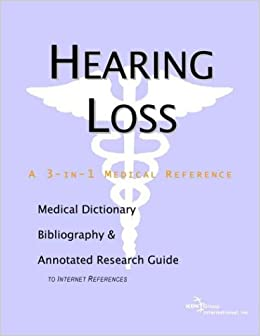 bibliography on hearing loss Ferrigno was born in brooklyn, new york, in 1951 and as a child suffered from an ear infection that resulted in permanent partial hearing loss undeterred by what some may have perceived as a disadvantage, lou threw himself into athletics (predominantly weightlifting and body building) and at the age of 21 won his first mr universe title.