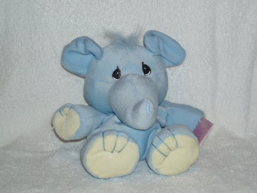 "Precious Moments Tender Tails Elephant 6"" Plush Beanie - 1"