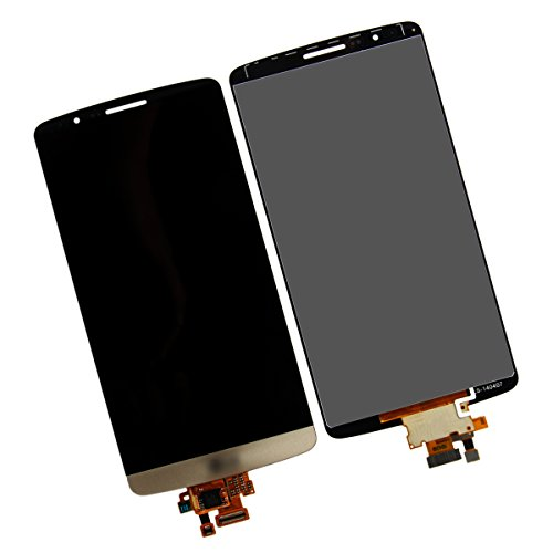 Full Lcd Screen Display Touch Digitizer Assembly Compatible For Lg G3 D855 D850 (Gold)