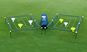 Big Birdie Golf ~ Full Swing Training Aid ~ Outdoor Game Set by Game Room Guys