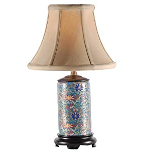 East Enterprises Small Multicolored Porcelain Accent Table Lamp at Sears.com