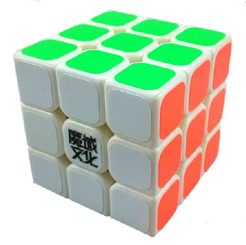 Moyu Aolong 3 x 3 x 3 Speed Cube White Puzzle - 1