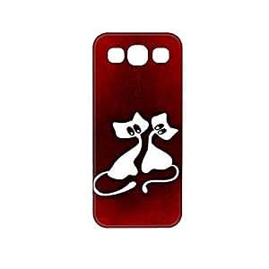 Vibhar printed case back cover for Samsung On5 CatBigEye