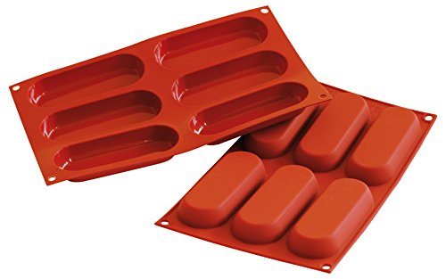 Silikomart SF103/C Silicone Classic Collection Mold Shapes, Savoiardo/ Ladyfinger (Ladyfingers Pan compare prices)