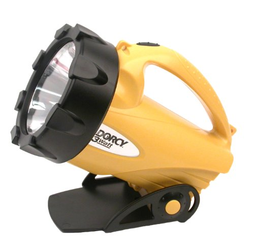 Dorcy 41-4291 LED Flashlight Lantern with Ratcheting Stand, 95-Lumens, Black Finish