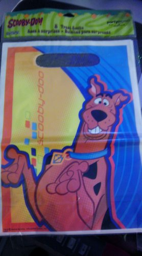 Scooby Doo Treat Sacks By Party Express Hallmark 8 Per Pack
