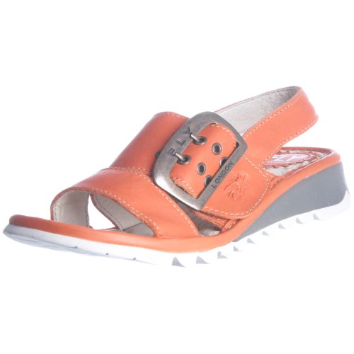 Fly London Junior Tuk K Devilred Sandal P500217006 2 UK