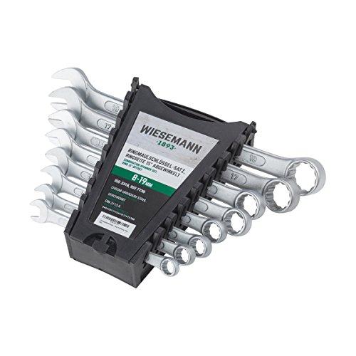 Ring-Maulschlssel-Set-8tlg-8-19mm-WIESEMANN-80201-Schraubenschlssel-Satz-im-Werkzeug-Halter