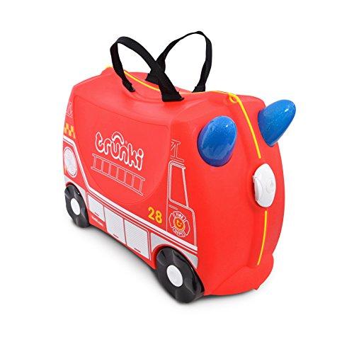 Trunki 10115 Kinderkoffer Frank Kindergepäck, 18 Liter, Rot