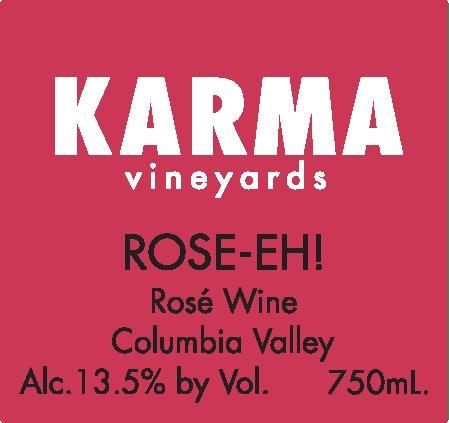 2010 Karma Vineyards Estate Dry Rose-Eh! 750 Ml