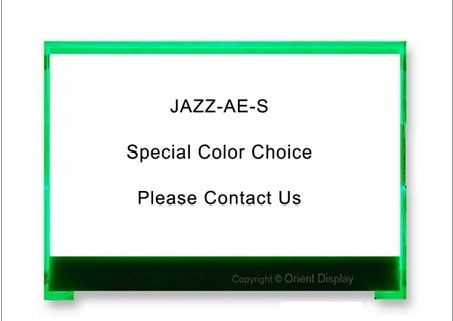 "2.7"" Led Backlight For Jazz-A Lcd Various Colors (Rgb) Jazz-Ae-S"