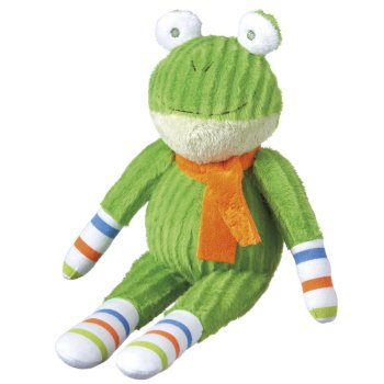 "Monkeez ""Frankie"" Mini Green Frog Plush"