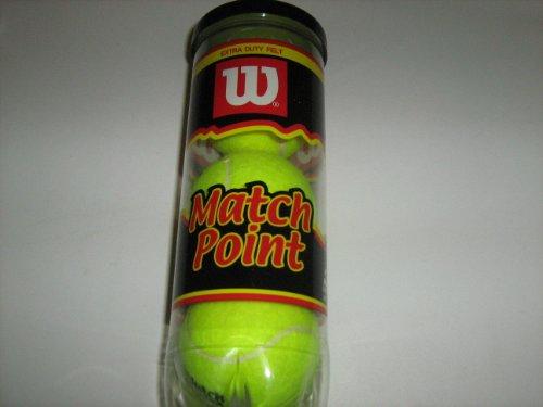 Wilson Match Point Extra Duty Tennis Balls
