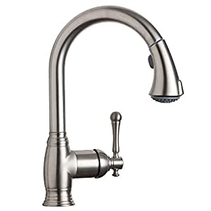 Grohe 33 870 ene bridgeford watercare dual spray pull out kitchen faucet brushed nickel touch - Grohe kitchen faucets amazon ...