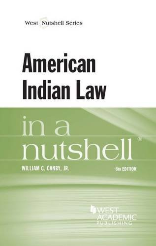 American Indian Law in a Nutshell